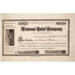 Wawona Hotel Company Stock