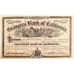 Grangers' Bank of California