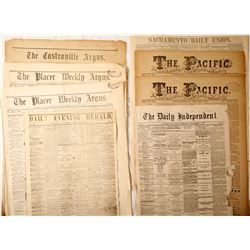 Newspapers (Assorted Areas)