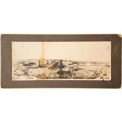 Photo (mounted) of Oil Field in Kern County, Cal.