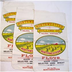 Northwestern Milling Co. Unused Flour Sacks