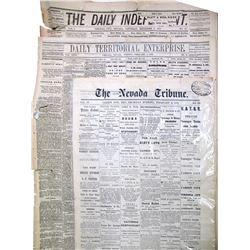 1870's Nevada Newspapers (3)