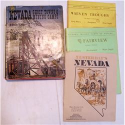 Nevada Ghost Town Books (3)