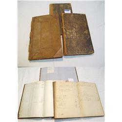 Pittsfield Ledgers (3), 1835-c1860