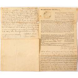 1829 Pennsylvania Will (Possible Newbold Estate)