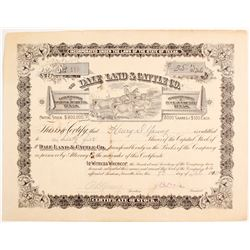 Dale Land & Cattle Co Stock