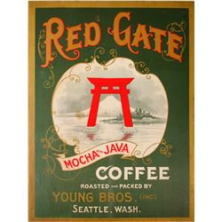 Red Gate Coffee Original Broadside
