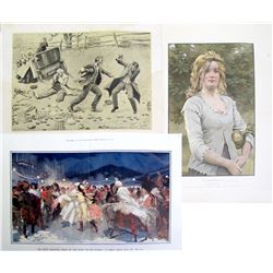 3 Early 20th Century Prints
