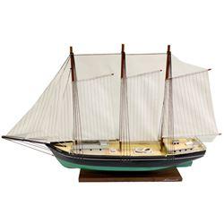 3 Mast Wooden Schooner