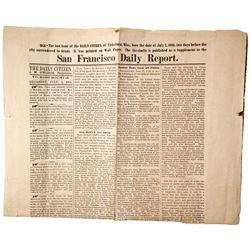 Civil War Facsimile Wall Paper Supplement