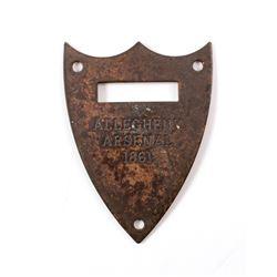 Allegheny Arsenal Saddle Shield