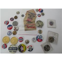 Politcal Button Collection