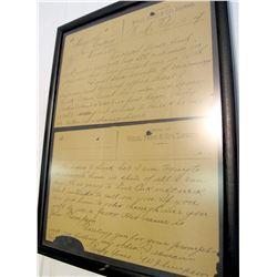 """Hogsmaggle"" letter via Wells Fargo & Co. Express"