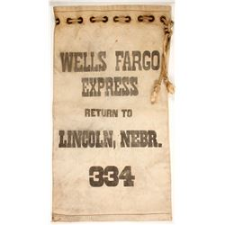 Wells Fargo Express Canvas Bag 334