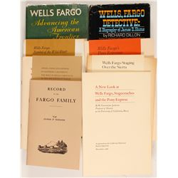 Wells Fargo Books and Historical Pamphlets