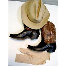 Vintage Stetson Hat & Boots