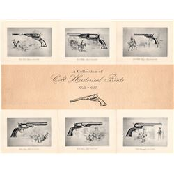 Colt Historical Prints - Set of Six 11x14-inches