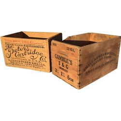 Ammunition Boxes - Lot of 2