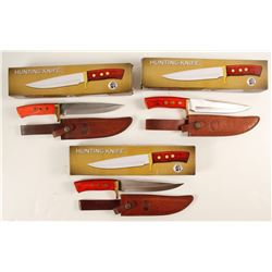 Three Chipaway hunting knives GW-2762 CB