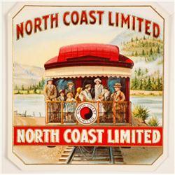 North Coast Limited Cigar Box Label