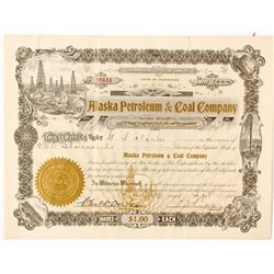 Alaska Petroleum & Coal Company stock