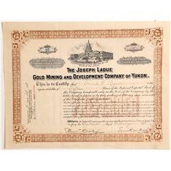 Joseph Ladue Gold Mining & Development Co