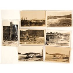Real Photo Postcards of Hydraulic Mining in Alaska