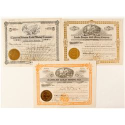 Three Gold Mining stocks - Alaska