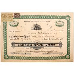Trans-Alaska Mercantile Company stock
