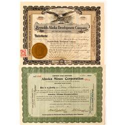 Two Alaskan stocks