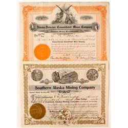 Two early Alaskan stocks