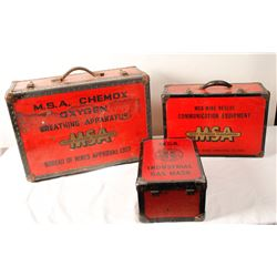 MSA Mine Rescue Kits