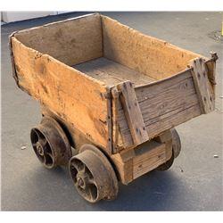 Wood Ore Car