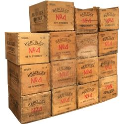 Dynamite Boxes - Hercules Powder - Lot of 15