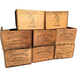 Dynamite Boxes - Hercules Powder - Lot of 8