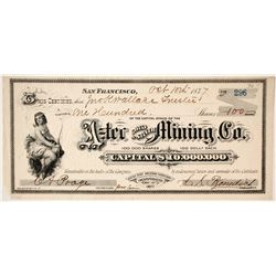 Aztec Gold & Silver Mining Company Stock