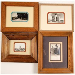 Four Framed Tombstone RPC's