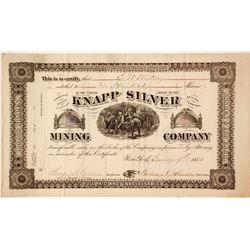 Knapp Silver Mining Company Stock