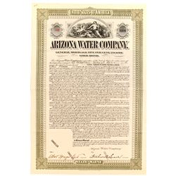 Arizona Water Company Gold Bond