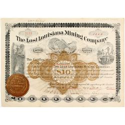 Lost Louisiana Mining Company Stock - An American Myth