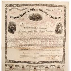 Empire Gold & Silver Mining Company Bond