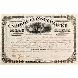 Caribou Consolidated Mining Company Stock