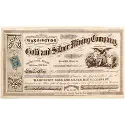 Washington Gold and Silver Mining Company Stock