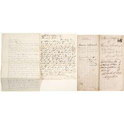 Handwritten Mineral Affidavit