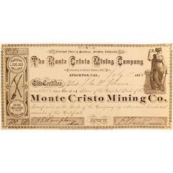 Monte Cristo Mining Company Stock