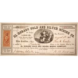 El Dorado Gold and SIlver Mining Company Stock