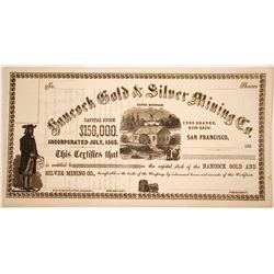 Hancock Gold & Silver Mining Company Stock