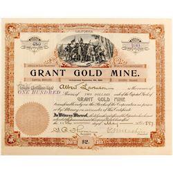 Grant Gold Mine