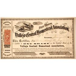 Vallejo Central Homestead Association Stock