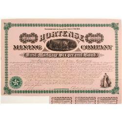 Hortense Mining Company Bond
